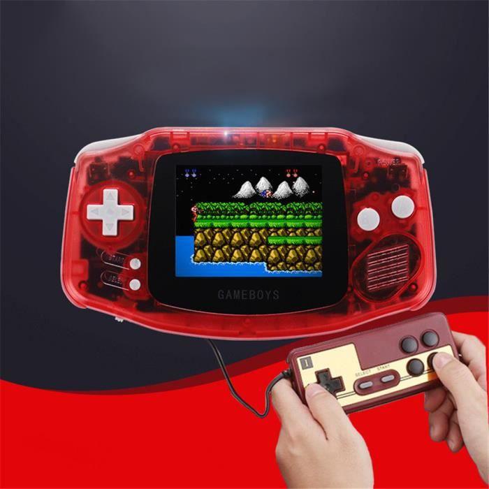 JEU CONSOLE RÉTRO Console rétro jeu intégré 400 jeux classiques 8 bi