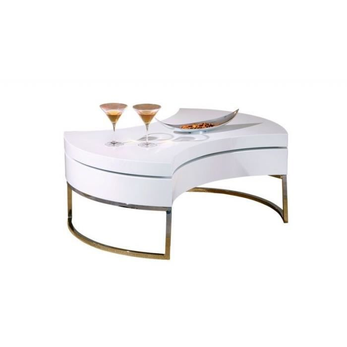 table basse laqu e blanche avec rangement achat vente table basse table basse laqu e blanche. Black Bedroom Furniture Sets. Home Design Ideas