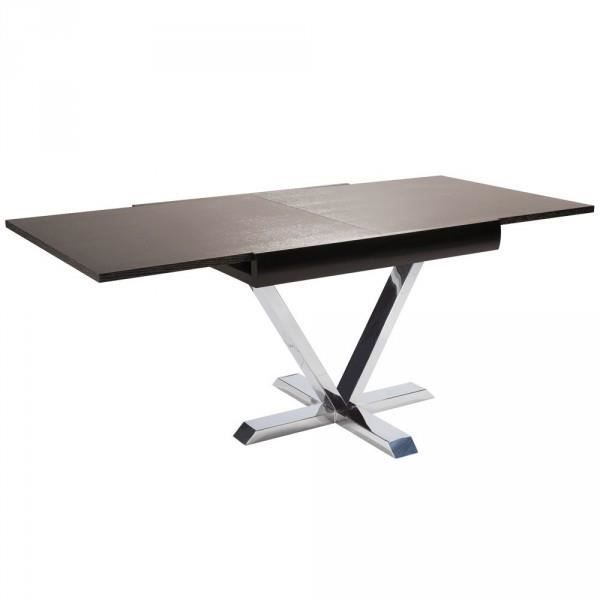 Table carre extensible x ross version bois weng achat - Table carre extensible ...