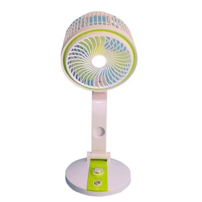 VENTILATEUR Ventilateur Pliable Mignon Été Bureau Faible Puiss