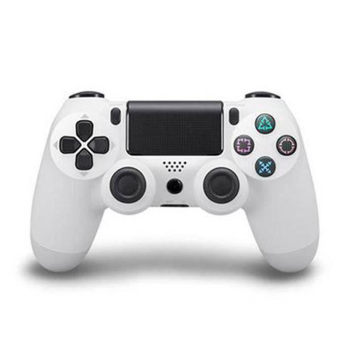 MANETTE JEUX VIDÉO SHA Manette Under Control Bluetooth pour PS4,Blanc
