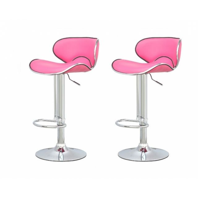 tabouret de bar rose. Black Bedroom Furniture Sets. Home Design Ideas