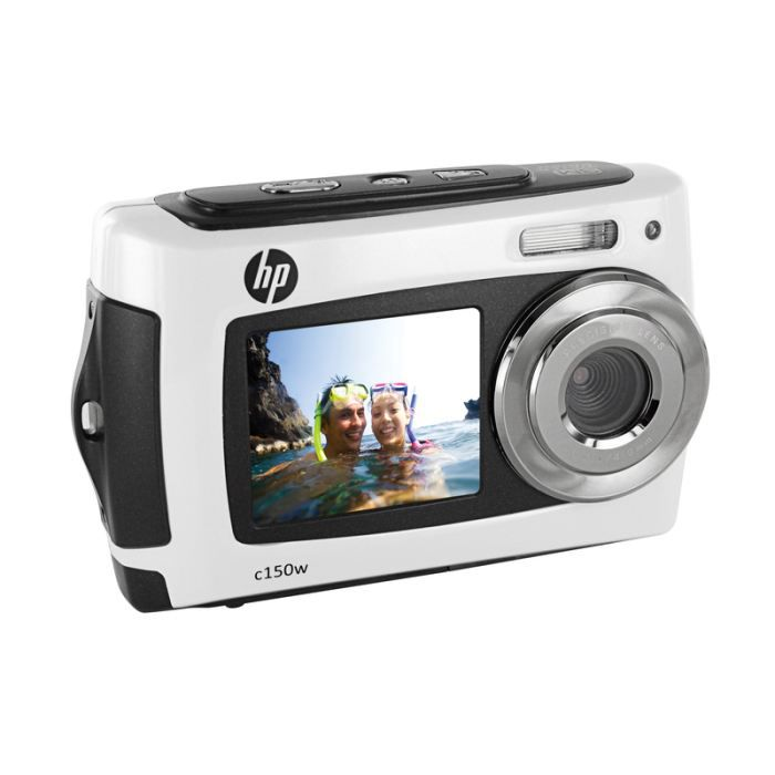 APPAREIL PHOTO COMPACT HP C-150W 8 MP ETANCHE BLANC