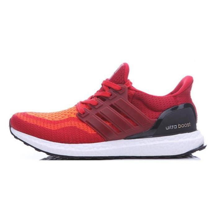 Adidas Ultra Boost Deep Rouge Orange, Chaussures de Running ...