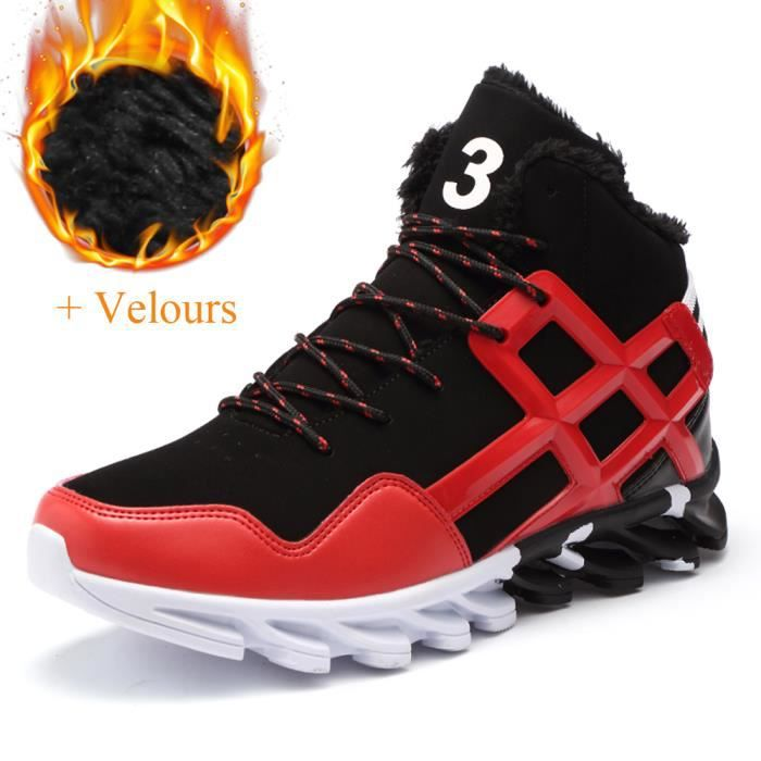Basket Hommes Mode Chaussures de course Casual Chaussures + Velours Vzw9W3WY6L