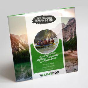 COFFRET SPORT - LOISIRS YAKAYBOX - Box Cadeau - Coffret 100% EAUX Vives -