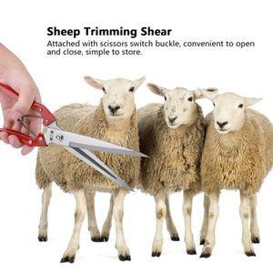 Mouton Shear-Multifonctionnel Manuel en Acier Inoxydable Moutons Cisaillement Ressort de Cisaillement