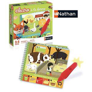 Livre 3-6 ANS Nathan - 31527 - Petit Electro Animaux de la ferme