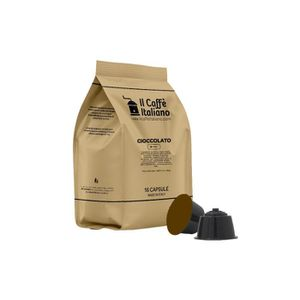 CAFÉ 96 capsules de Soluble Chocolat compatible avec ma