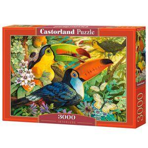 PUZZLE Puzzle 3000 pièces : Toucans aille Unique Coloris