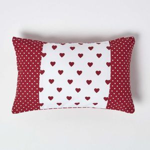 Housse coussin 30 x 30 rouge achat vente housse for Housse coussin rouge