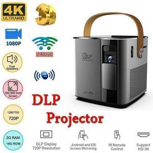 Vidéoprojecteur 2020 Nouveau Vidéoprojecteur Mini DLP 7500 Lumens