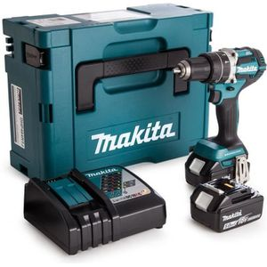 PERCEUSE MAKITA Perceuse visseuse Brushless DDF484RTJ + 2 b