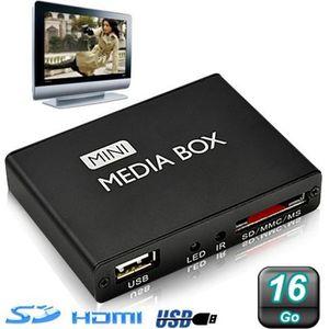 LECTEUR MULTIMÉDIA Mini passerelle multimédia lecteur vidéo HD 720…