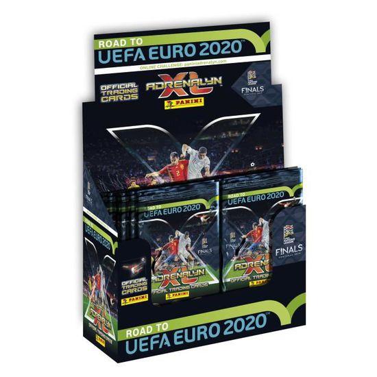 Calendrier De Lavent Pokemon 2020.Road To Uefa Euro 2020 Tcg Boite De 50 Pochettes Tcg