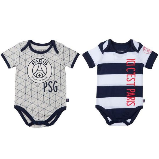 PARIS SAINT GERMAIN 2x PSG Baby body Official Collection