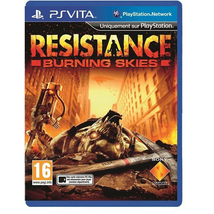 Resistance Burning Skies Jeu PS Vita