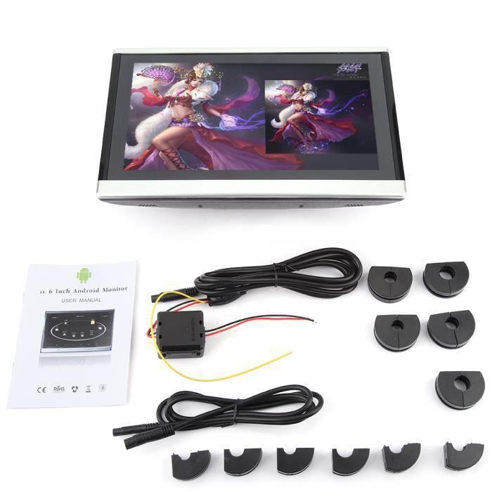 LANQI 10,1 pouces HD Lecteur DVD portable appui-tête moniteur d'oreiller numérique