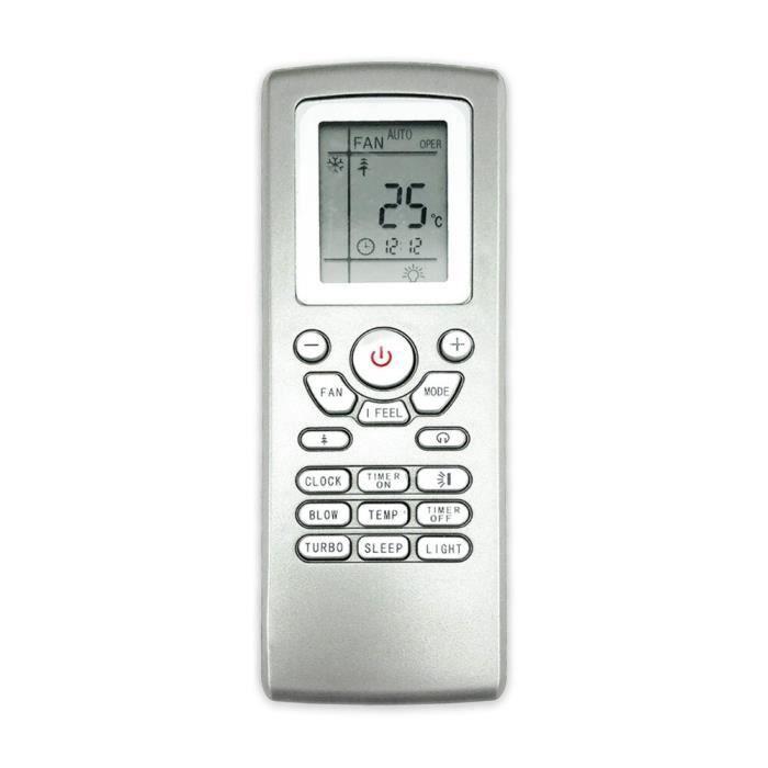 Télécommande,Climatiseur climatisation télécommande adapté pour gree mcquay lenndx aermec Yt1f Yt1ff Yt1f1 Yt1f2 Yt1f3 Yt1f4