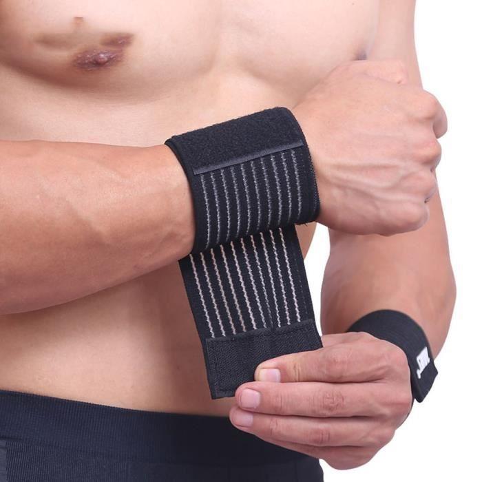 Bande élastique main sport poignet gymnastique soutien attelle de poignet canal carpien