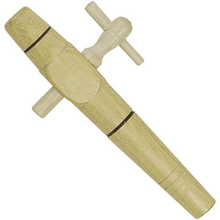 BOUCHONNERIE JOCONDI Robinet en bois acacia - Diamètre 30 mm - 10 pouces