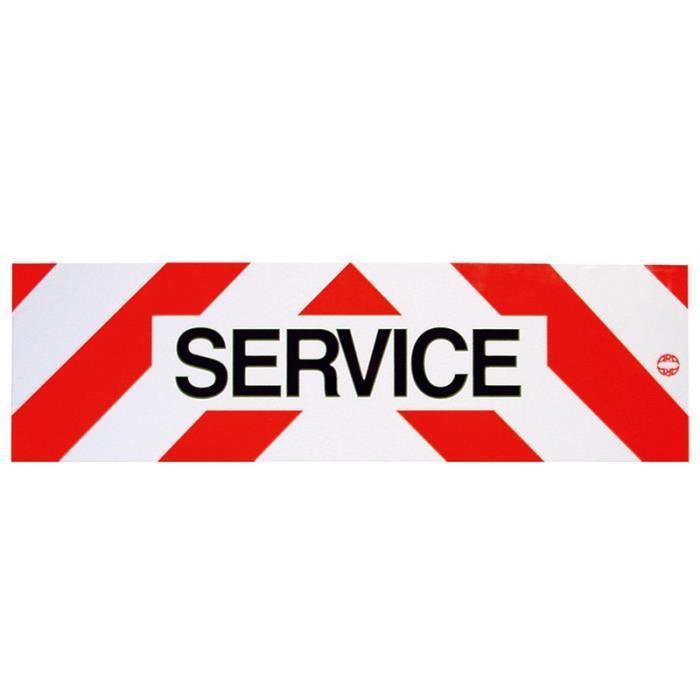 Panneau Service Reflechissant