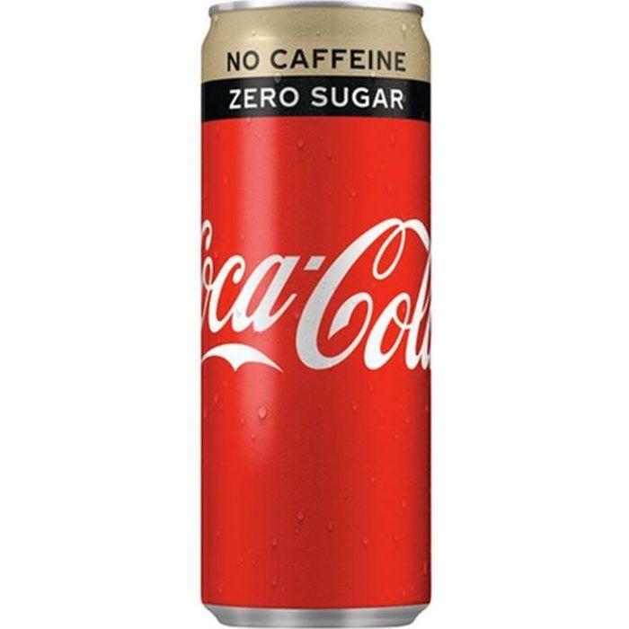 Coca-Cola Zero Sans Caféine 25cl (pack de 24)