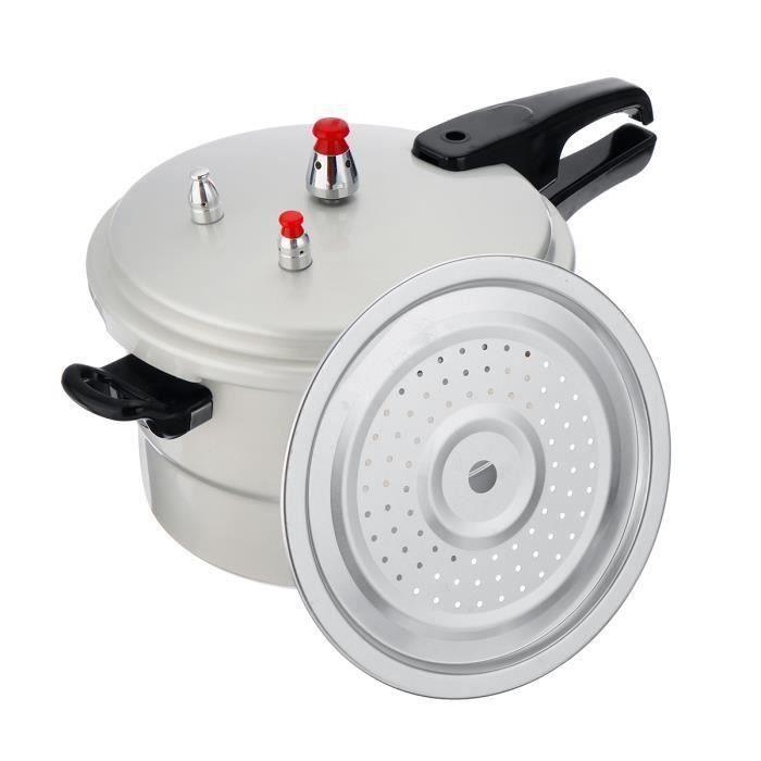 Autocuiseur Secure Cuiseur à Pression Relâche Multifonction - pour Cuisinière à Gaz - 6.3L - 22cm Meg20359