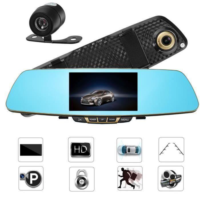 ANG 1080P Caméra de recul voiture inverse vue arrière vision nocturne 170° grand angle