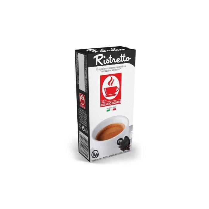 Café Ristretto Bonini - Compatible nepresso - 10 Capsules