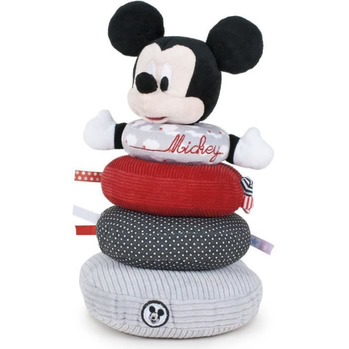 Disney - Peluche Mickey Anneaux d'empilement