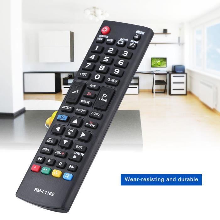 Télécommande TV Remplacement Télécommande universelle multifonctionn pour LG TV -TUN