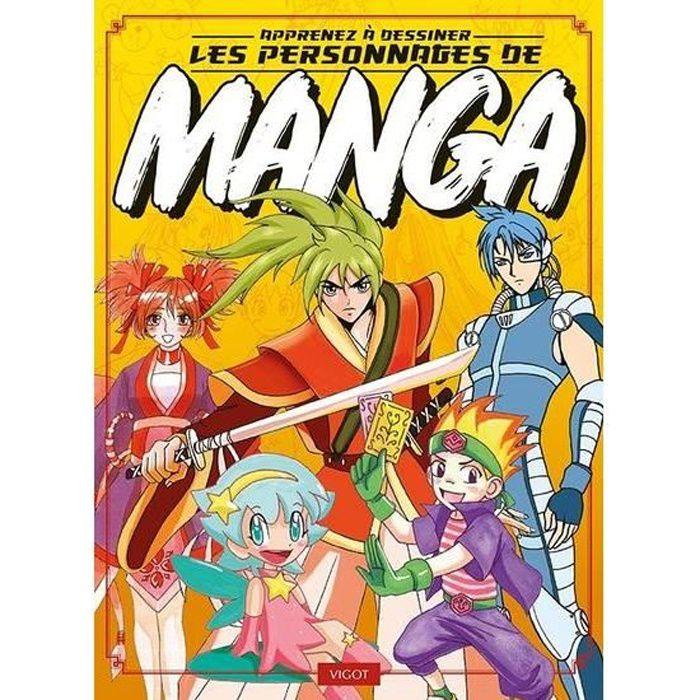Apprenez à dessiner des personnages de manga