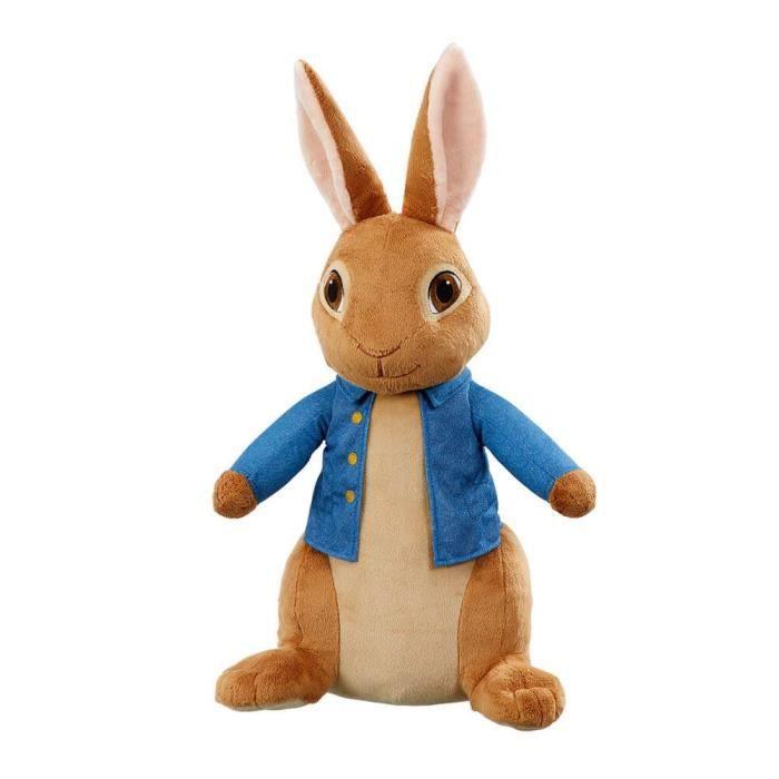 Officiel Mon Premier Géant Peter Rabbit Film Peluche