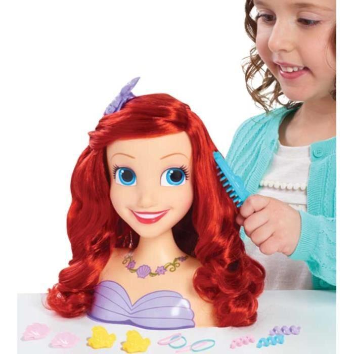 Disney Tête à coiffer Princesse Ariel