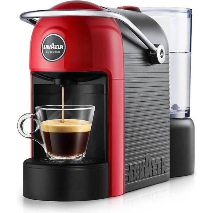 Lavazza Jolie, Autonome, Cafetière à dosette, 0,6 L, Capsule de café, 1250 W, Noir, Rouge