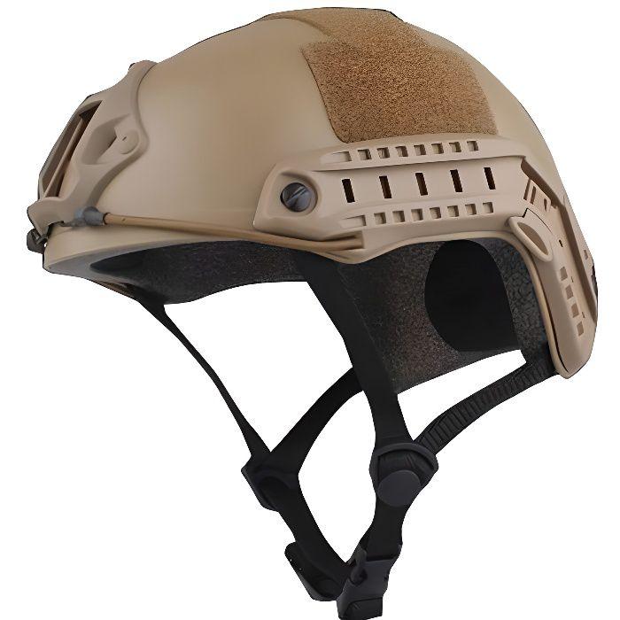 Zencart Casque De Protection De Haute Qualité Paintball Wargame Armée Airsoft Mh Casque Tactique Rapide Avec Masque De Protection