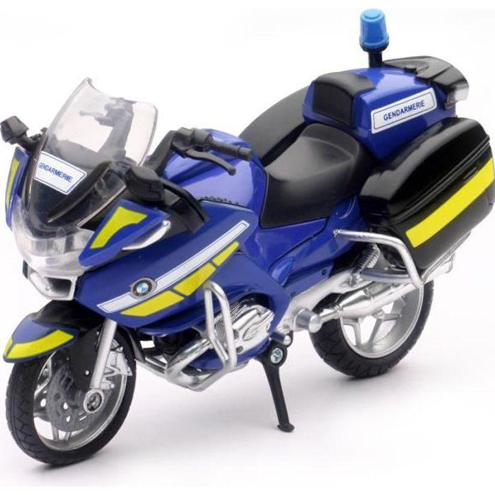 NEWRAY - 67643 SS - Moto Gendarmerie BMW R 1200 - Miniature - Die Cast - 1/18° - 11,5 cm