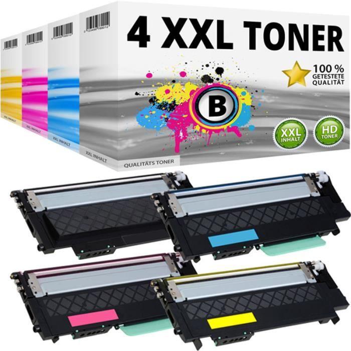 4Pcs Cartouche de Toner pour Samsung Xpress C430 C430w C480 C480w C480fn