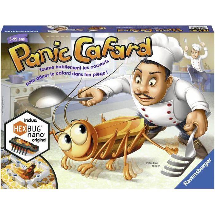 Panic Cafard - Ravensburger - Jeu de société enfant - Jeu d'action et de rapidité - 2 à 4 joueurs - Dès 5 ans