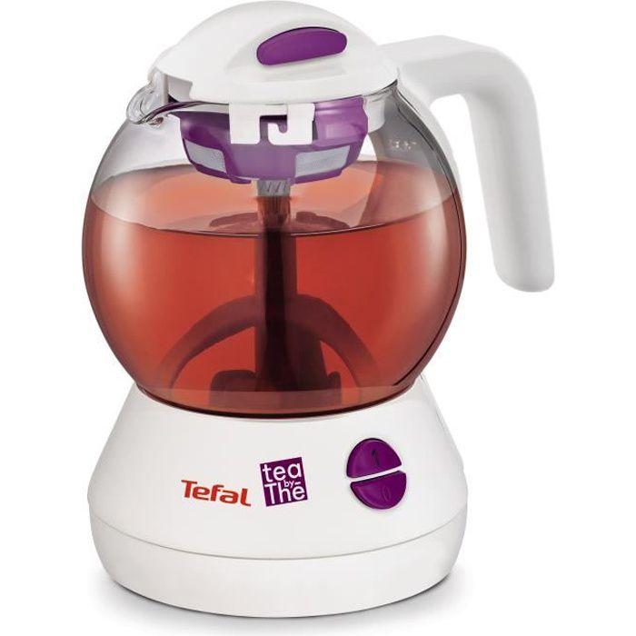 TEFAL BJ1100FR Théière électrique Magic Tea by Thé - Blanc