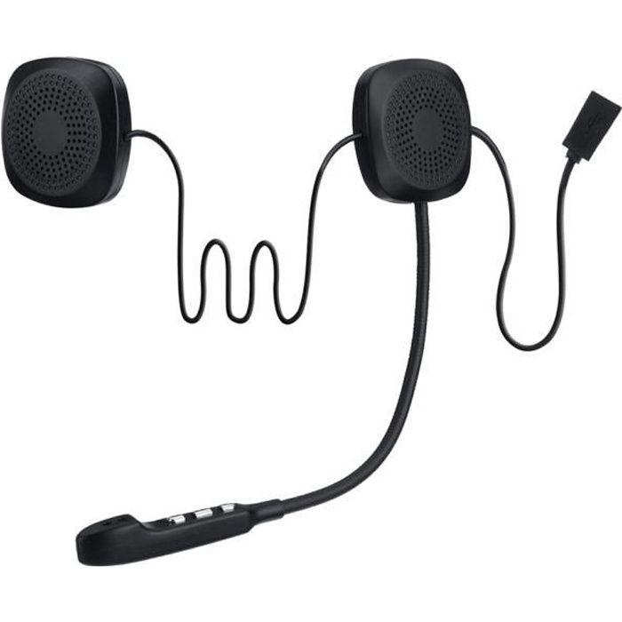 TEMPSA bluetooth Ecouteur Casque Sans Fil Siri Pour Moto Scooter Helmet Kit Mains Libre
