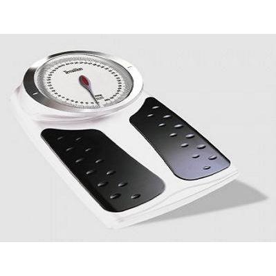 TERRAILLON Balance mécanique XL - Design pro avec grand cadran surelevé - Blanc