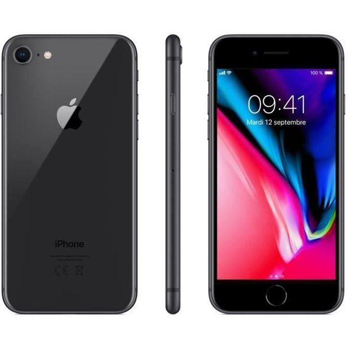 SMARTPHONE iPhone 8 64 Go Gris Sideral Reconditionné - Etat C