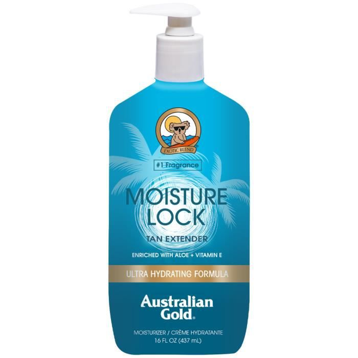 australian gold prolongateur de bronzage moistu achat vente activateur de bronzage. Black Bedroom Furniture Sets. Home Design Ideas