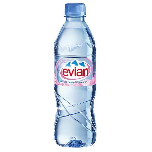 L/'eau à partir de filtration d/'eau bouteille 75 cl Rouge
