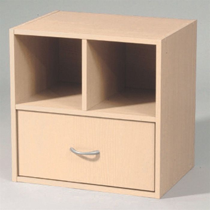 meuble de rangement 2 cases 1 tiroir rable achat. Black Bedroom Furniture Sets. Home Design Ideas