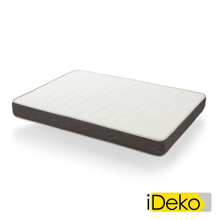 ideko matelas visco m moire de forme 105x200cm hauteur. Black Bedroom Furniture Sets. Home Design Ideas