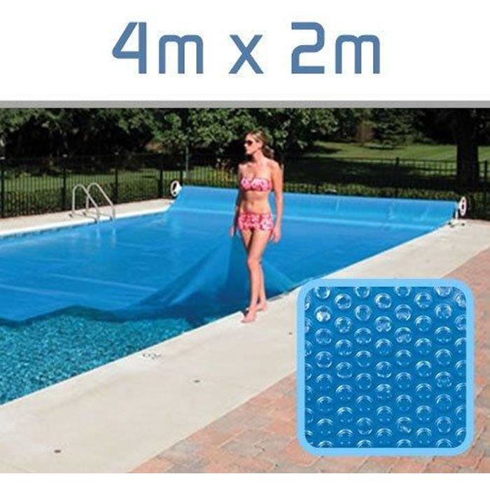 bache piscine rectangulaire 4x2
