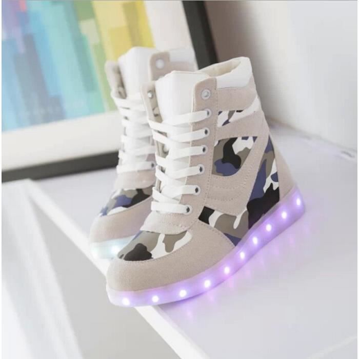 basket nike led homme